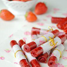 草莓果丹皮的做法
