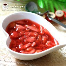 面包机版草莓果酱的做法