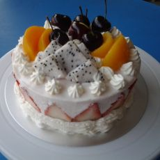 水果慕斯蛋糕