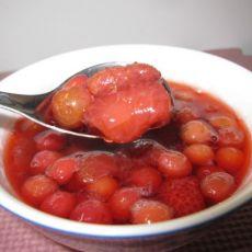 樱桃草莓酱