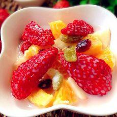 简易草莓沙拉