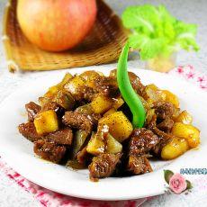 黑椒苹果牛肉粒的做法