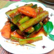 韩国黄瓜条泡菜