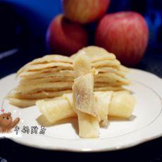 苹果杏仁煎饼