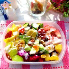 果干水果沙拉的做法