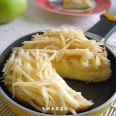 煎锅版苹果蛋糕
