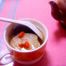 枸杞红枣苹果梨水