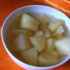 苹果蜂蜜汤