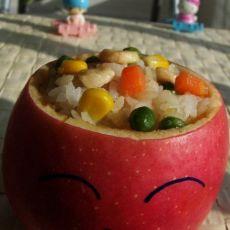 苹果蔬菜饭