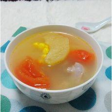 番茄苹果猪骨汤的做法