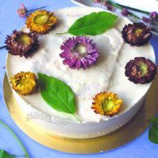 苹果酸奶慕斯蛋糕