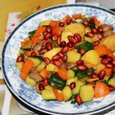 苹果蔬菜丁