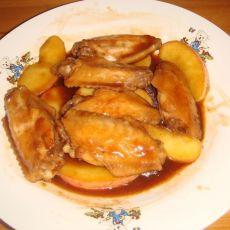 酸甜苹果鸡翅