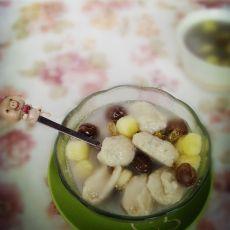 冰糖水果藕丸羹