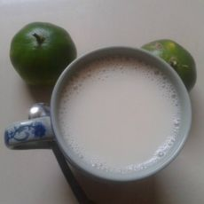 苹果花生豆浆