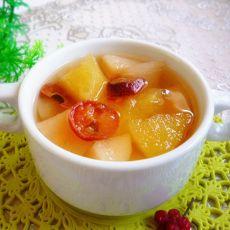 苹果酸梨汤