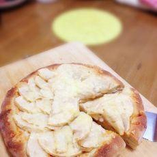 美味简易的苹果披萨的做法