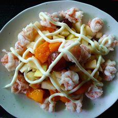 水果沙律虾