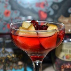 水果朗姆酒苹果