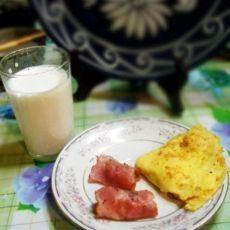 奶香苹果饼