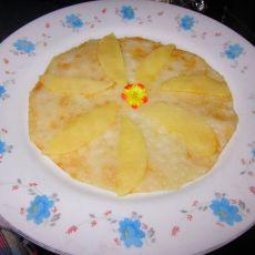 苹果糯米煎饼