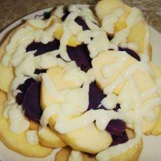 (首发)苹果紫薯色拉
