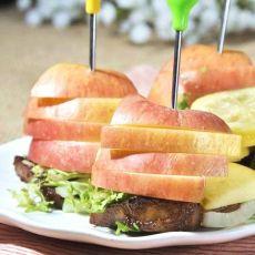 苹果里脊肉排的做法