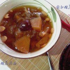 苹果红枣桂圆羹
