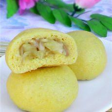 玉米苹果包的做法