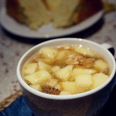 麦片苹果藕羹的做法步骤