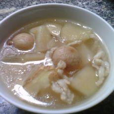 苹果雪梨无花果瘦肉汤的做法