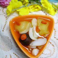 百合苹果糖水