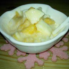 酸奶芒果丁