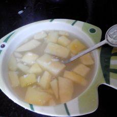 苹果米酒汤
