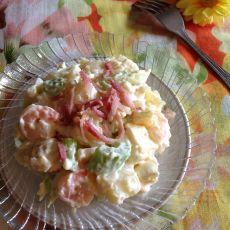 果蔬培根沙拉