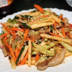 蔬果拌猪头肉