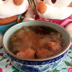 苹果瘦肉汤