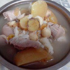 苹果煲瘦肉的做法