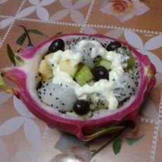 水果沙拉船