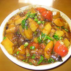 土豆炒苹果