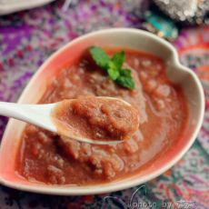 番茄猪肝泥