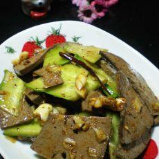 黄瓜拌猪肝的做法