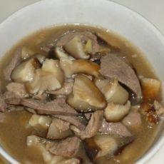 猪肝香菇汤