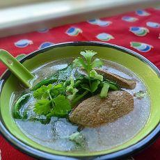 蒲公英猪肝汤