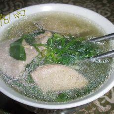 猪肝粉丝汤