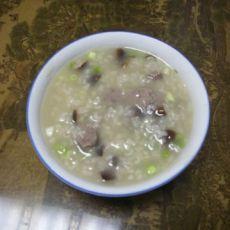 猪肝香菇粥的做法