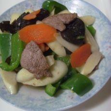 补铁美食炒猪肝的做法