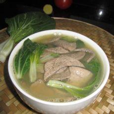猪肝蔬菜汤