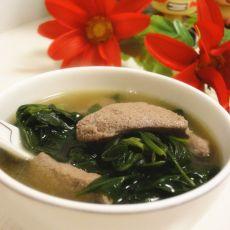 枸杞猪肝瘦肉汤的做法