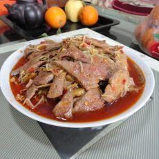 绿豆芽炒猪肝